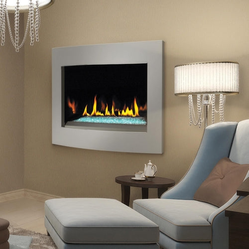 "Napoleon Crystallo™ 36"" Gas Fireplace BGD36CFG - ExceptionalFire"