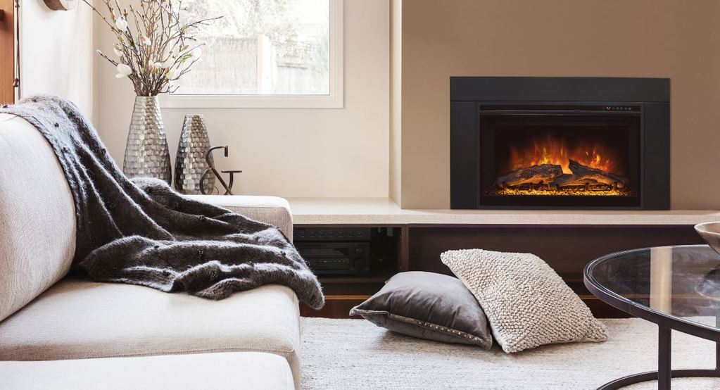 "Modern Flames ZCR Series 32"" Built In Electric Firebox Insert - ExceptionalFire"