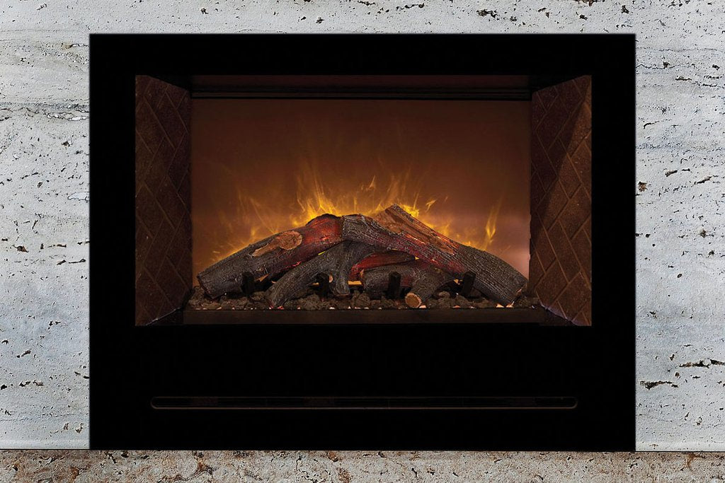 "Modern Flames Home Fire 36"" Built In Electric Firebox Insert HF36CBI - ExceptionalFire"