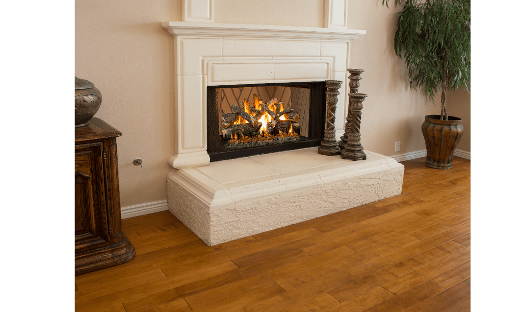 "Grand Canyon Weathered Oak Charred Vented Gas Log Set / Sizes: 18"", 24"", 30"", 36"", 42"" - ExceptionalFire"