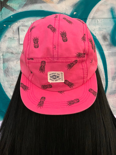 """Do What You Like, Like What You Do"" Pink Pineapple Hat"