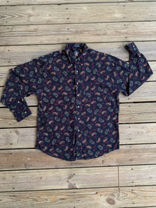 SALTY DOG 90's Vintage Button-Down Shirt