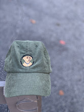 Load image into Gallery viewer, Olive Green Dog Dad Hat