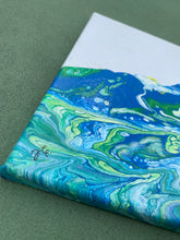 "Load image into Gallery viewer, ""Ocean Wave"" Canvas Art"
