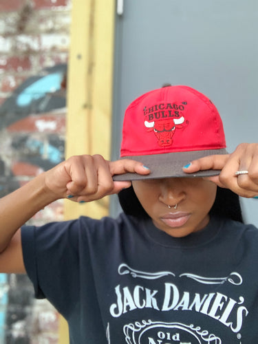 CHICAGO BULLS 90's Vintage Hat
