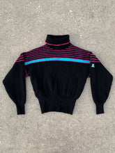 Load image into Gallery viewer, DEMETRE Vintage Pure Virgin Wool Ski Sweater