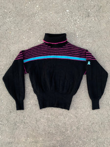 DEMETRE Vintage Pure Virgin Wool Ski Sweater