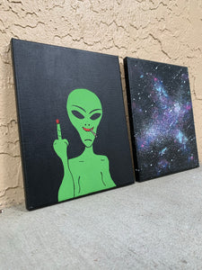 """Milo's Galaxy"" Canvas Art Set"