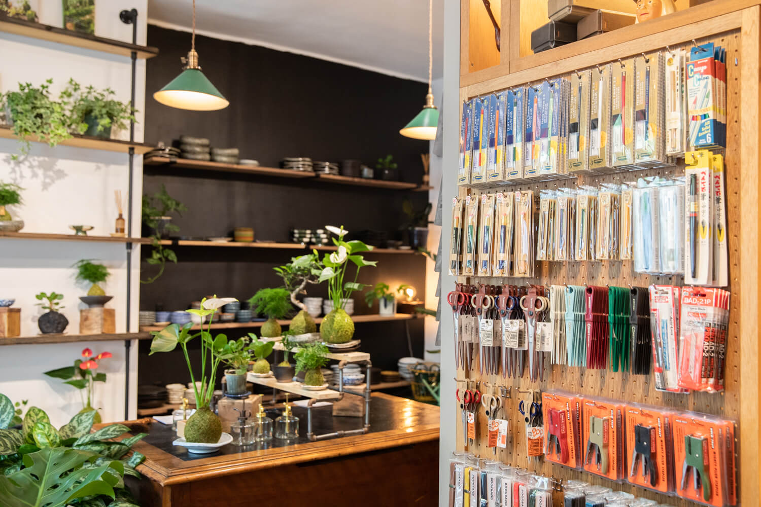 CORNERSHOP HIGHTIDE BROOKLYN NEW YORK interior photo shared space with The Moss and Green