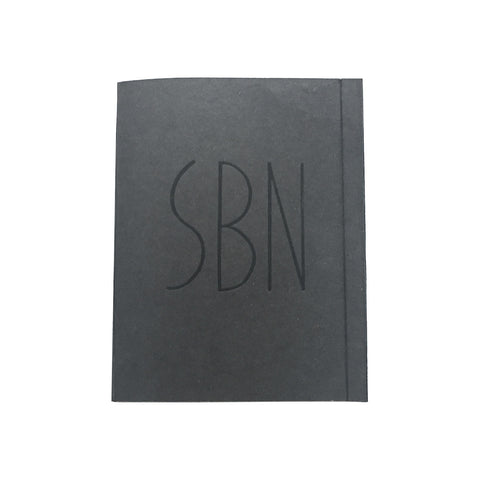 NOTE SUPER BINDING NOTEBOOK/BLACK