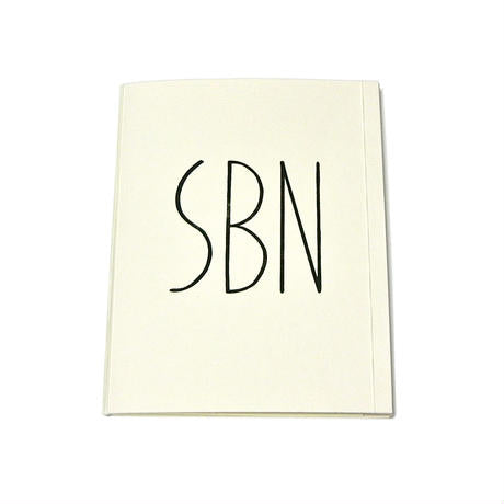 NOTE SUPER BINDING NOTEBOOK/WHITE