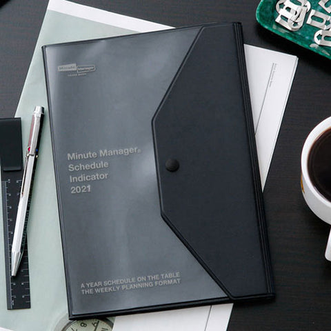 2021 Diary Minute Manager PK/ A5 Left