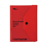 2021 Diary Minute Manager PK/ A6 Left