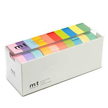 MT Washi Tape/ 10 Light Colors Set