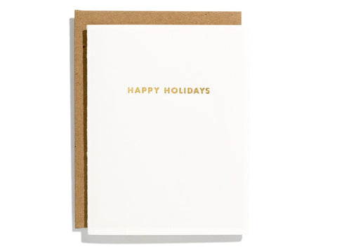 Futura Holiday Greeting Card
