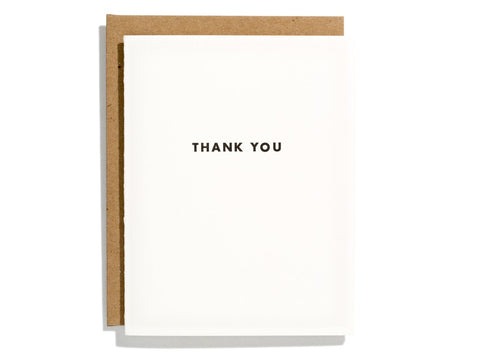 "Futura ""Thank you"" Card"