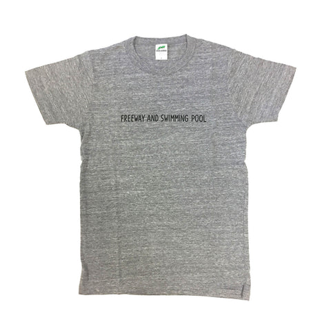 T-SHIRT FREEWAY&SWIMMING POOL/GREY