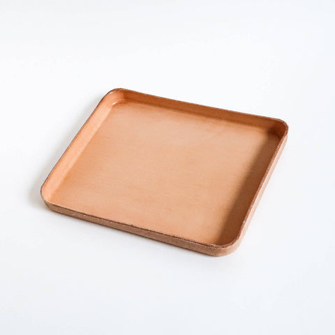Leather Tray/ Large