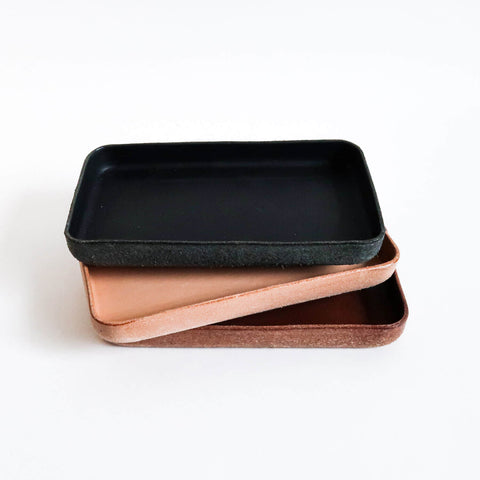 Leather Tray/ Medium