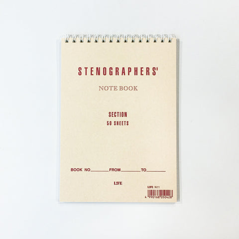 STENOGRAPHERS' Notebook / N11 SECTION