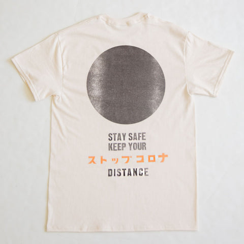 STOP CORONA/ T-Shirt/ Black Dot