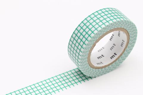 MT Washi Tape/ Graph Emerald