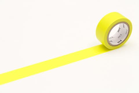 MT Washi Tape/ Fluorescent Yellow
