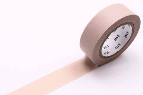 MT Washi Tape/ Pastel Brown
