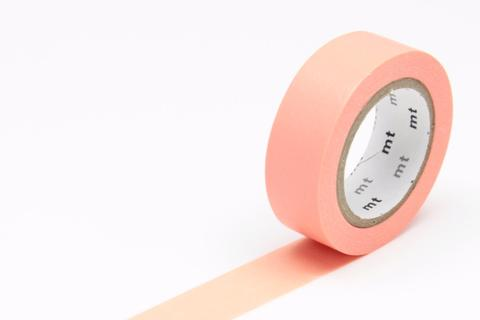 MT Washi Tape/ Salmon Pink