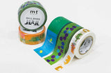 MT Washi Tape/ Animals
