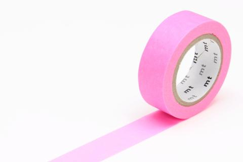 MT Washi Tape/ Shocking Pink