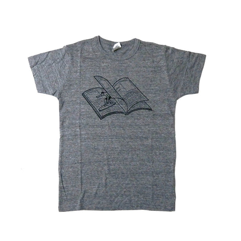 T-SHIRT MAGAZINE WAVE/GREY