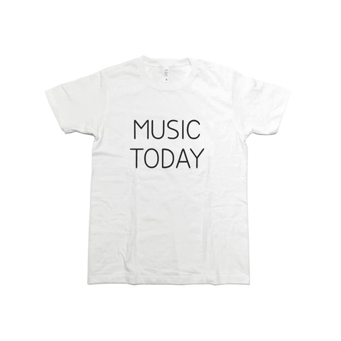 T-SHIRT MUSIC TODAY/WHITE