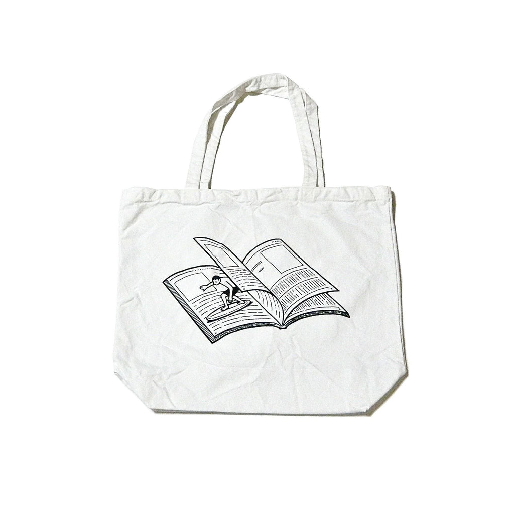 TOTE BAG MAGAZINE WAVE