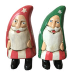 Wooden Doll/ Curved Santa/ XS