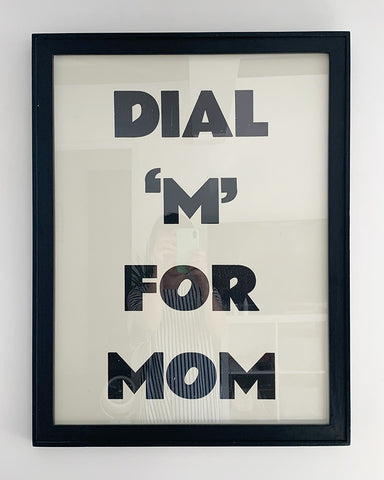 DIAM 'M' FOR MOM/ Poster