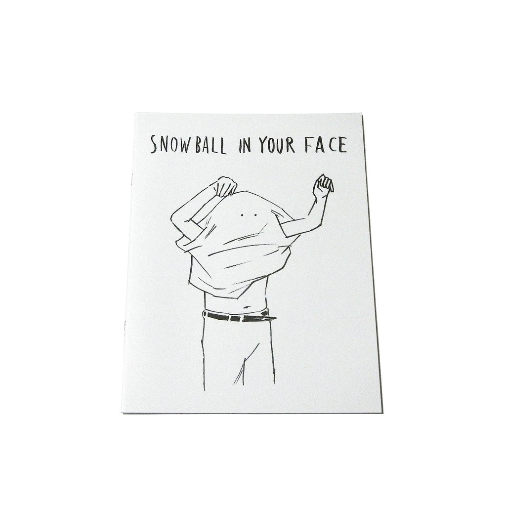 A4 BOOK SNOWBALL IN YOUR FACE