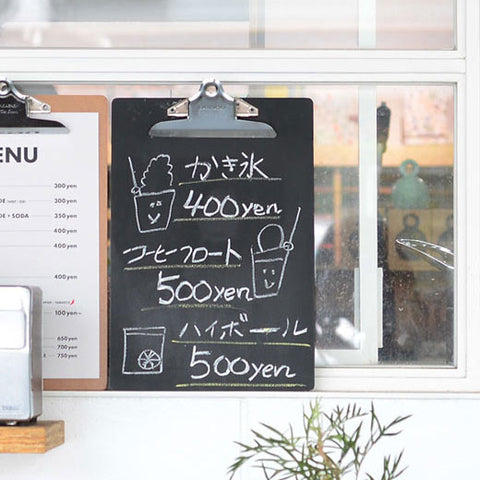 Clip Chalk Board/ A4 (PENCO)