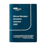 Diary Minute Manager A6 LEFT