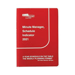 2021 Diary Minute Manager/ A6 Left