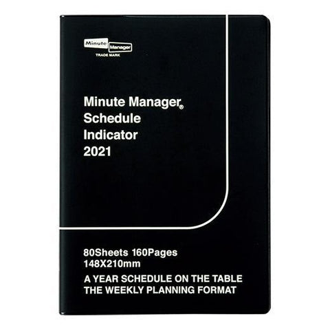 2021 Diary Minute Manager/ A5 Left