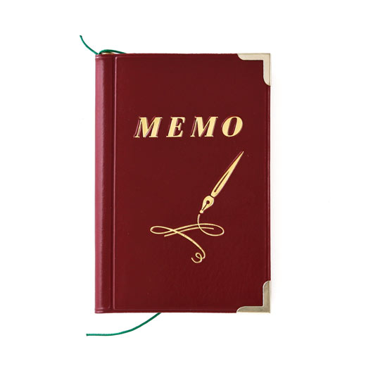 Memo Pad with a Pencil