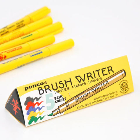 Brush Writer Pen Set (PENCO)