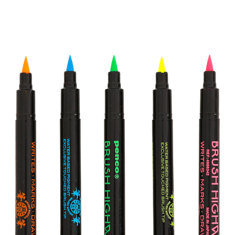 Highlighter Brush Pen (PENCO)