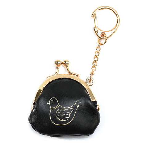 Frame Purse Key Holder - Bird