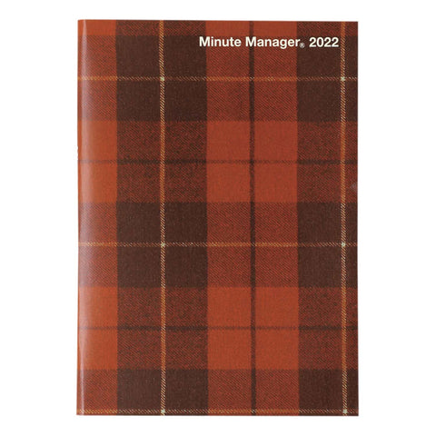 Diary Minute Manager・PL A5 LEFT