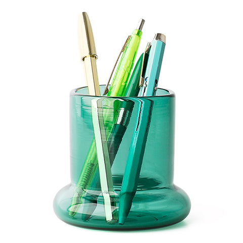 Pen Stand (TOUMEI)/ D/ Blue-Green