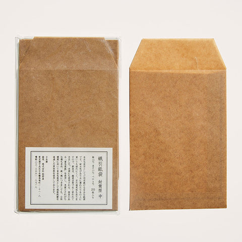 Wax Paper/ Flat Envelope/ M