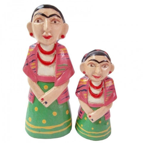 Wooden Doll/ Frida