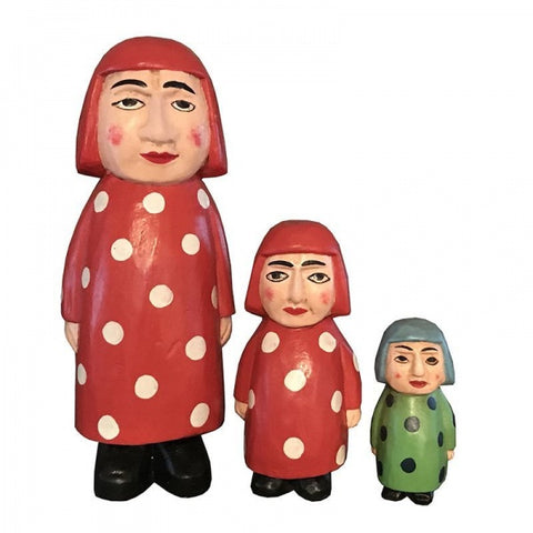 Wooden Doll/ Madame Dots/ M